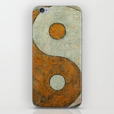 Gold Yin Yang iPhone & iPod Skin