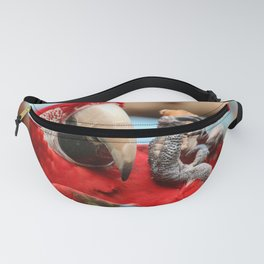 polly want a cracker Fanny Pack