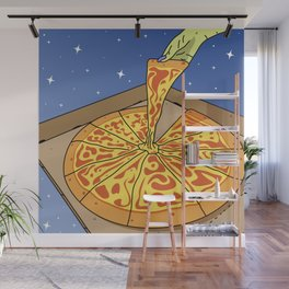 Sky Pizza Delivery Service Wall Mural