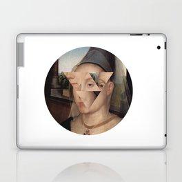 Puzzle face Laptop & iPad Skin