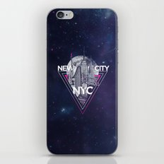 New York City V [pink] iPhone & iPod Skin