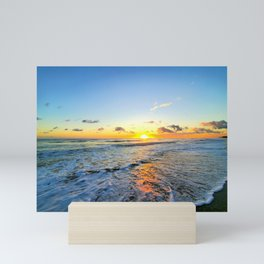 Beach Life Sunrise Mini Art Print