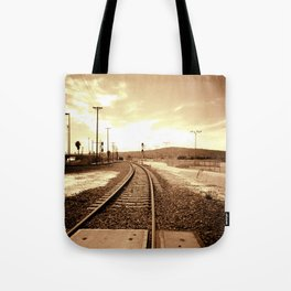 Tracks of my Heart Tote Bag