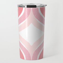 Pink Borderline Travel Mug