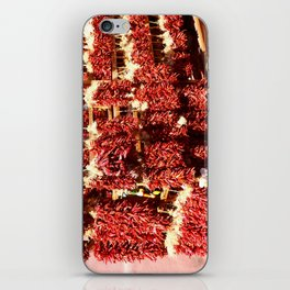 Red Chili Ristra And Gralic iPhone Skin