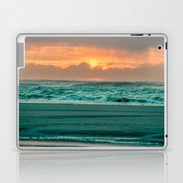 Turquoise Ocean Pink Sunset Laptop & iPad Skin