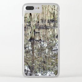 Secret Woods Clear iPhone Case