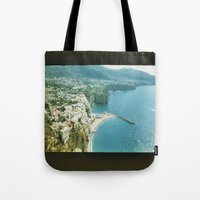 italy Tote Bags featuring Italy  by Taylor Palmer