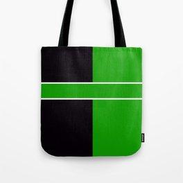 Team Color 6...Green,black Tote Bag