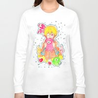 iwatobi Long Sleeve T-shirts featuring Astronaut Nagisa by Lilolilosa