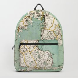 Cap Cod and Vicinity Map Backpack
