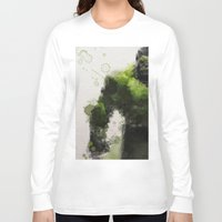 water colour Long Sleeve T-shirts featuring Water Colour Hulk by Scofield Designs