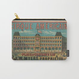 American Old sing Cirque Americain Carry-All Pouch