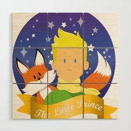 Little Prince Wood Wall Art