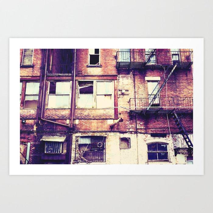 Urban Decay Art Print