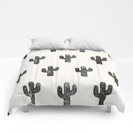 Stamped Cactus Comforters