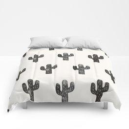 Stamped Cactus Comforters