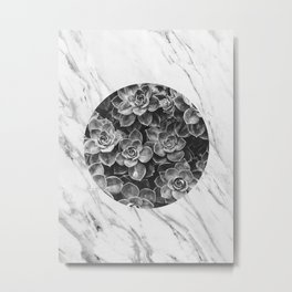 Plant collage XIII Metal Print