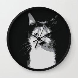 A Feline Mastermind Wall Clock