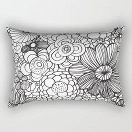 Floral vibe Rectangular Pillow