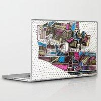 drunk Laptop & iPad Skins featuring drunk by Mariana Beldi
