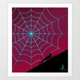 Spider Twilight Series - Spider-Gwen Art Print