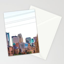 Minneapolis Skyline Stationery Cards