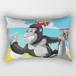 King Kong Poster Rectangular Pillow