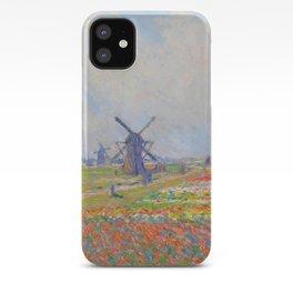 "Claude Monet ""Tulip Fields near The Hague"" iPhone Case"