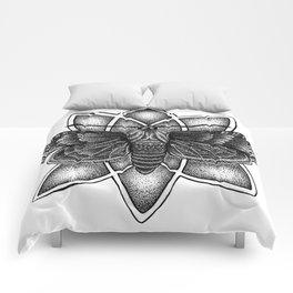 Moth Mandala Comforters