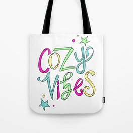 Cozy Vibes Tote Bag