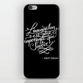 L'imagination iPhone Skin