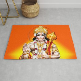 Hindu - Hanuman 2 Rug