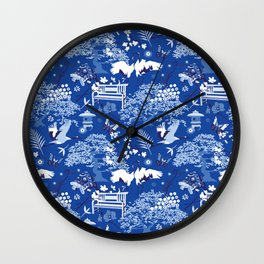 My chinese garden – my sanctuary Wall Clock