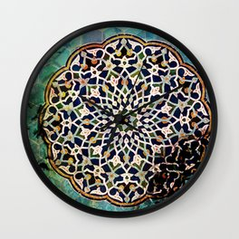 Persian Pattern Wall Clock