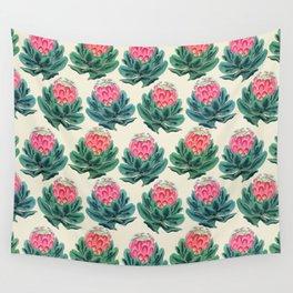 Protea flower garden Wall Tapestry