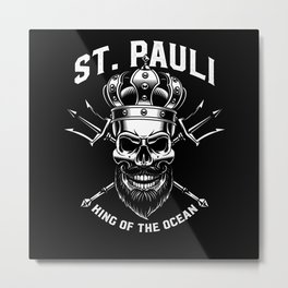 Paulianer Hamburg Sankt Pauli Fan  St. Pauli Metal Print