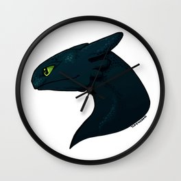 Alpha Dragon Wall Clock