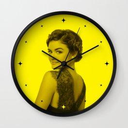 Lucy Hale - Celebrity (Florescent Color Technique) Wall Clock