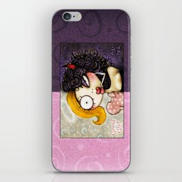 Good Girl Bad Girl iPhone Skin