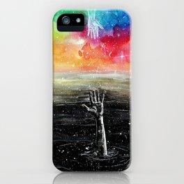 Help me iPhone Case