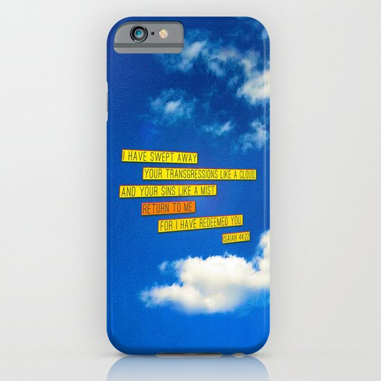 Return to Me iPhone & iPod Case