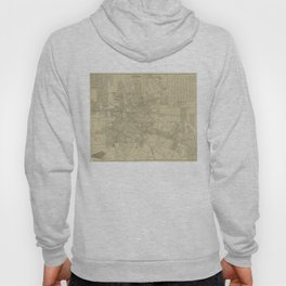 Vintage Map of Downtown Houston (1913) Hoody
