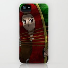 Legend of The Red Hood  iPhone Case