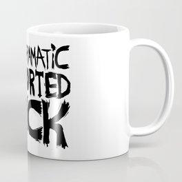 Melodramatic Distorted Fuck Coffee Mug