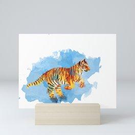 Tiger Cub Mini Art Print