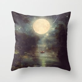 I Wish You Love Me Forever Throw Pillow