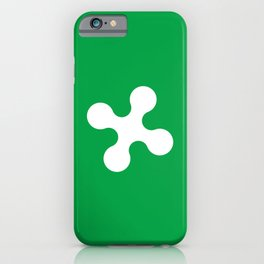 flag of lombardy iPhone Case