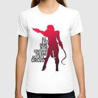 britney T-shirts featuring Britney Circus by Tadeu Marques