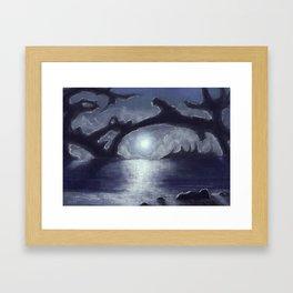 Distant Light Framed Art Print